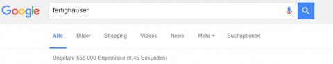 Anzahl Suchergebnisse