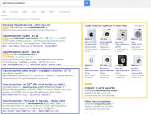 Unterschied organische Suchergebnisse vs. AdWords