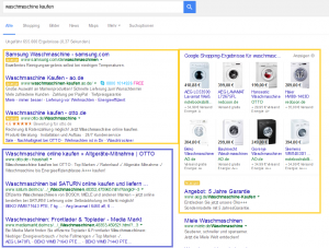 Organische Suchergebnisse vs. AdWords | seonative