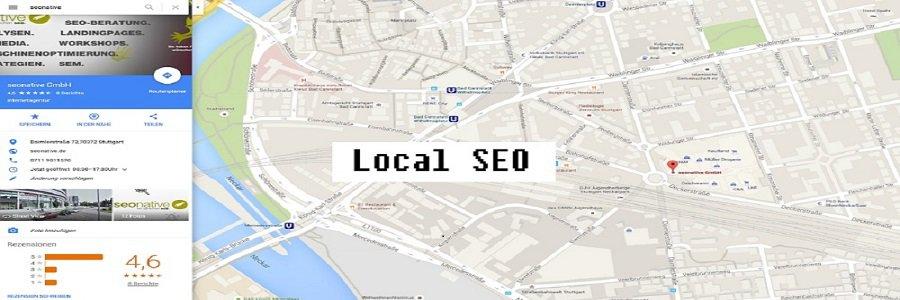 Google Maps Eintrag der Seonative GmbH wie local SEO perfekt optimiert sein kann.
