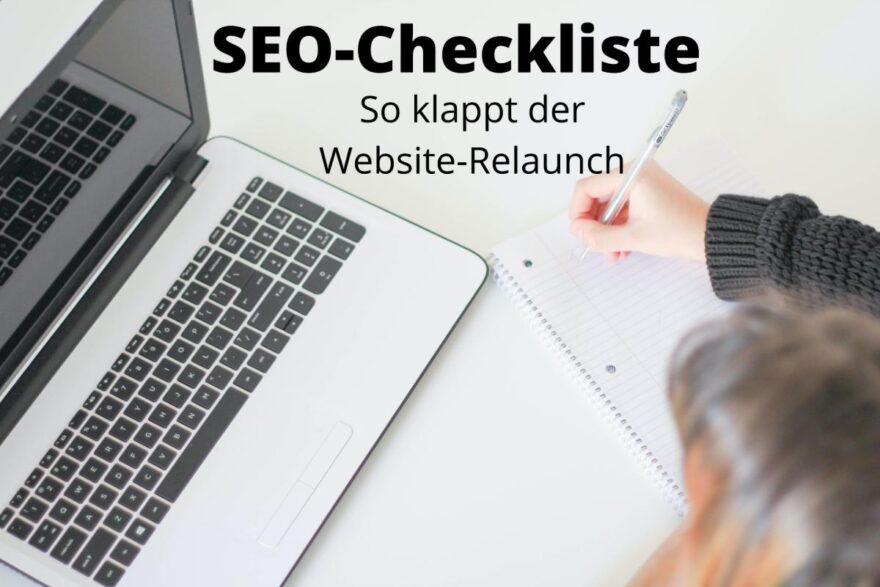 SEO Checkliste Relaunch