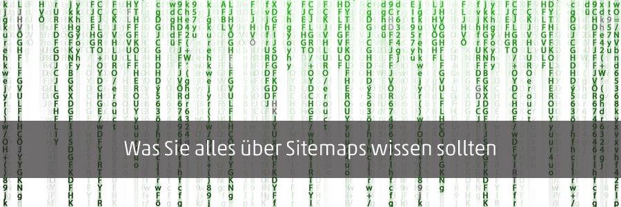 Titelbild des Blogbeitrags: Was Sie alles über Sitemaps wissen sollten