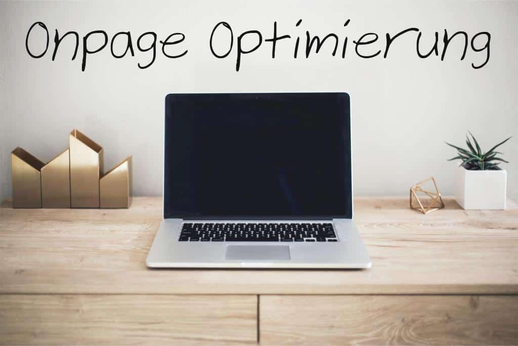 OnPage Optimierung Titelbild Blogartikel