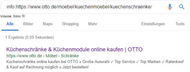 URL-Parameter am Beispiel von otto.de